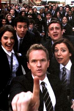 HIMYM. Girls vs  Suits. Nothing suits me like a suit by Barney Stinson