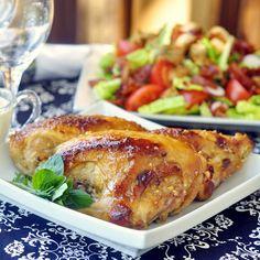 Honey Dijon Glazed Chicken Breasts