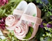 These pink silk soft sole mary janes are pade of a pure silk and adorned with a gorgeous hand-stitched rosette! These pink silk baby shoes are the perfect pink shoes for flower girls or any special occasions! Made in the USA by Gracious May! These pink s Little Girl Shoes, Baby Girl Shoes, Girls Shoes, Little Girls, Baby Boots, Doll Shoes, Pink Shoes, Pink Silk, Baby Decor