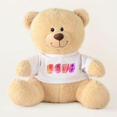 Happy Birthday Teddy Bear Little Boy YOUR NAME - birthday gifts party celebration custom gift ideas diy