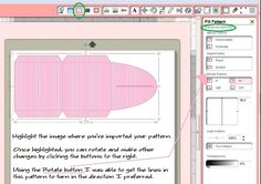 HOW TO ADJUST, STRETCH AND TURN PATTERNS IN SILHOUETTE SOFTWARE