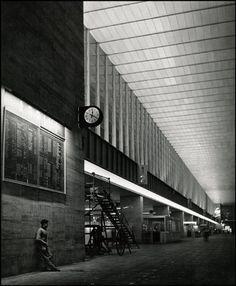 Stazione di Roma Termini by Herbert List