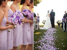 A Purple Vancouver Wedding Purple Summer Wedding, Light Purple Wedding, Lilac Wedding, Glamorous Wedding, Wedding Colors, Dream Wedding, Wedding Fun, Bouquet Wedding, Wedding Dresses