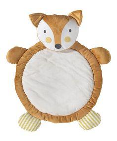 Another great find on #zulily! Fox Plush Playmat #zulilyfinds