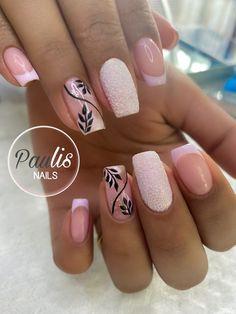 Gorgeous Nails, Love Nails, Pretty Nails, Mani Pedi, Manicure And Pedicure, Spirit Finger, Girls Nails, Cool Nail Art, Press On Nails