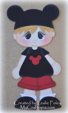 Disney Boy Premade Scrapbooking Embellishment Paper Piecing