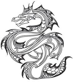 Image result for sea serpent tattoo