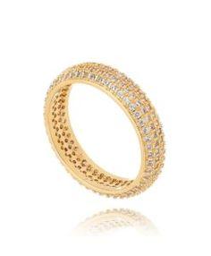 alianca aparador dourada semi joias luxo