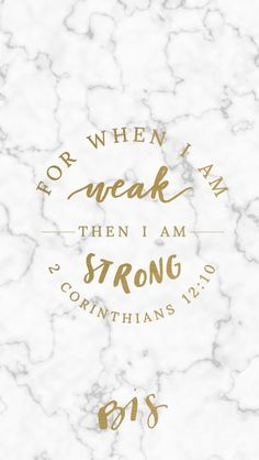 18th Week Of Ordinary Time 2 Corinthians 1210 For When I Am Weak Then Strong Blessed Is She