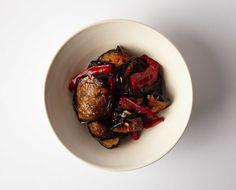 Easy Fried Eggplant Salad.