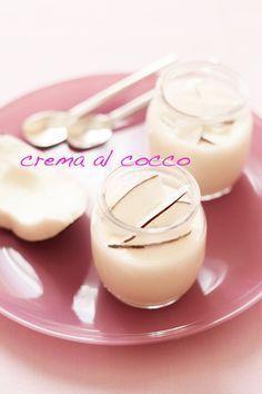 Cocco bello: crema al cocco fresco « Volevo fare lo chef