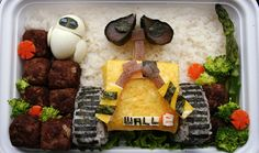 Familius | 26 Mind-Blowing Bento Boxes: Wall-E