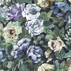 Bloomsbury Rose - Indigo Cutting