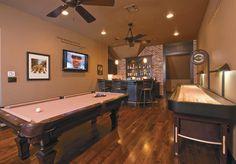Basement Bars -   Poker table, Man cave and Poker