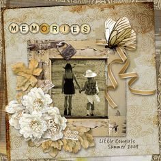 Studio4 Designworks brings us Vintage Attic for our daily download this week at Go Digital Scrapbooking! This rustic, vintage kit has sepia toned and gray elements and papers - with some pops of color. Perfect for older photos!