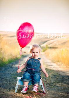 Children Photography - Balloon
