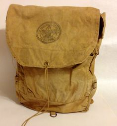 Vintage Boy Scouts of America Backpack