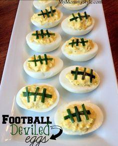 Deviled Eggs | Scrumptious Super Bowl Food Ideas