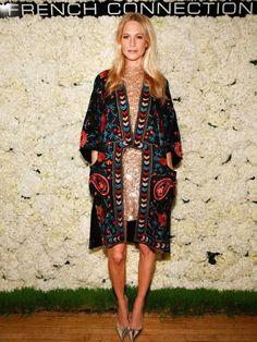 Poppy Delevingne Style - Holiday Party Style Inspiration