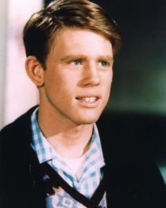 Richie Cunningham (Ron Howard) from Happy Days. How can you not you love him?