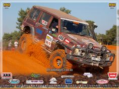 Nissan Patrol on Outback Challenge