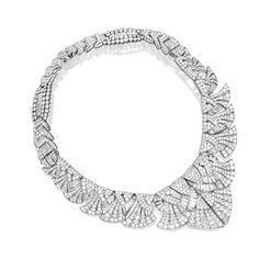 Art Deco Diamond Necklace by Cartier! #ArtDeco #Necklaces