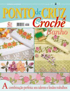 Ponto de Cruz & Crochê Banho nº 07