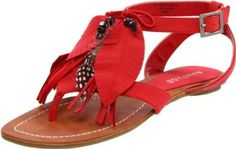 Cute, sandals. Rampage Women's Regan Thong Sandal $29