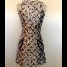 Christopher Kane Jacquard Silk Petal Dress Christopher Kane Jacquard Petal Print Mini Dress with patent leather rimmed pockets. Christopher Kane Dresses Mini