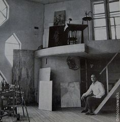 Inside the Melnikov house in Moscow