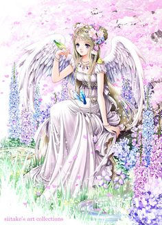 Kunzite angel princess by manga artist Shiitake.