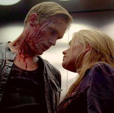Eric and Sookie - True Blood season 5 finale. Alexander Skarsgard and Anna Paquin.
