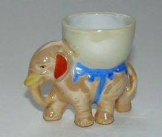 Vintage-Lustre-Ware-Elephant-with-Egg-Cup-on-Back