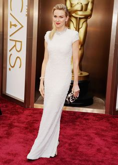 The Best & Worst Looks at the Oscars: Best Effort From a Non-Nominee - Naomi Watts