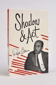 This series of covers by Cardon Webb for six of Ralph Ellison's most important books uses type and color to capture the Jazz era perfectly.