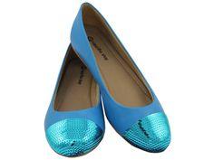 Sapatilha Cap Toe Paetê Azul, DE R$99,90 POR R$79.90 + frete grátis! Para verificar a numeração e efetuar a compra é só entrar em contato pelo e-mail: vendas@sapatilhashop.com.br