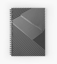 'Line Art - Geometric Illusion, abstraction no. Spiral Notebook by cool-shirts Samsung Galaxy Cases, Iphone Cases, Spiral Notebooks, Cool Shirts, Line Art, Illusions, Journals, Finding Yourself, Stationery
