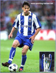 Paulo Ferreira - Porto - Final UEFA Liga dos Campeões 2004