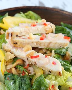 Chicken Salad With Thai Dressing | 72 Insanely Popular Dinners You Have To Try In 2017