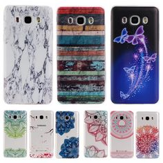 Colorful TPU Case sFor Coque Samsung galaxy J7 2016 J710F J7100 Floral Clear Soft Gel Transparent Case Cover For Galaxy J710 //Price: $US $1.26 & FREE Shipping //     #iphone