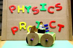 Looking for science project ideas for your kids? How about a self-propelled car? #scienceproject