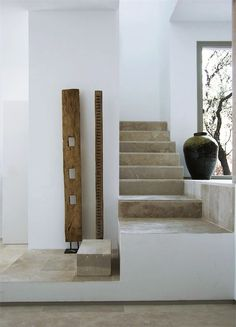 "Modern House - BBC Boracay says: "" Modern Interior mixed with ethnic collectables. We like the staircase too."""