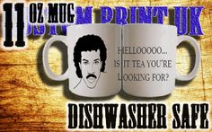 https://www.etsy.com/uk/shop/customprintuk - Super funny Lionel Richie mug, check out custom-print uk on ebay and pinterest