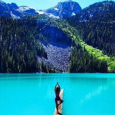 Pinterest: @brecreelman Joffre Lakes, Pemberton