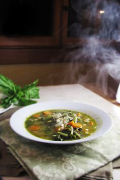 15 Favorite Fall Recipes - White Bean, Pesto, and Kale Soup
