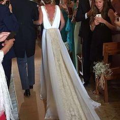 """1,433 Me gusta, 14 comentarios - Larissa about weddings (@aboutweddings) en Instagram: """"Quien diga que no se ha quedado impresionado con esta preciosa cola de @tot_hom miente ❤️"""""""