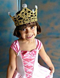 crochet crown and tiara - Google Search
