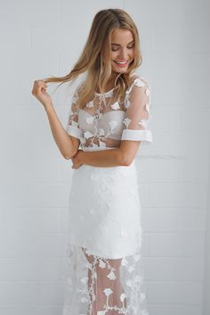 delilah lace two piece - ivory | Esther clothing Australia and America USA, boutique online ladies fashion store, shop global womens wear worldwide, designer womenswear, prom dresses, skirts, jackets, leggings, tights, leather shoes, accessories, free shipping world wide. – Esther Boutique