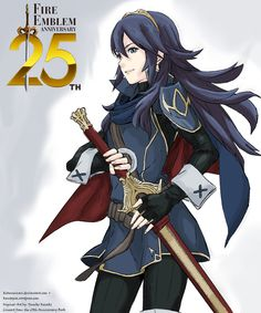 Fire Emblem 25th Anniversary Colored