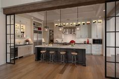 A light and airy kitchen for a desert climate. Be inspired by Park Place, a Sub-Zero, Wolf, and Cove Transitional Kitchen Design Contest Winner. Küchen Design, Home Design, Design Ideas, Rustic Design, Modern Design, Kitchen Layout, New Kitchen, Kitchen Ideas, Wolf Kitchen